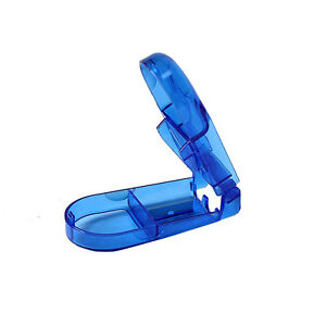 1x-comprime-pillule-de-coupe-Splitter-compartiment-de-rangement-FM