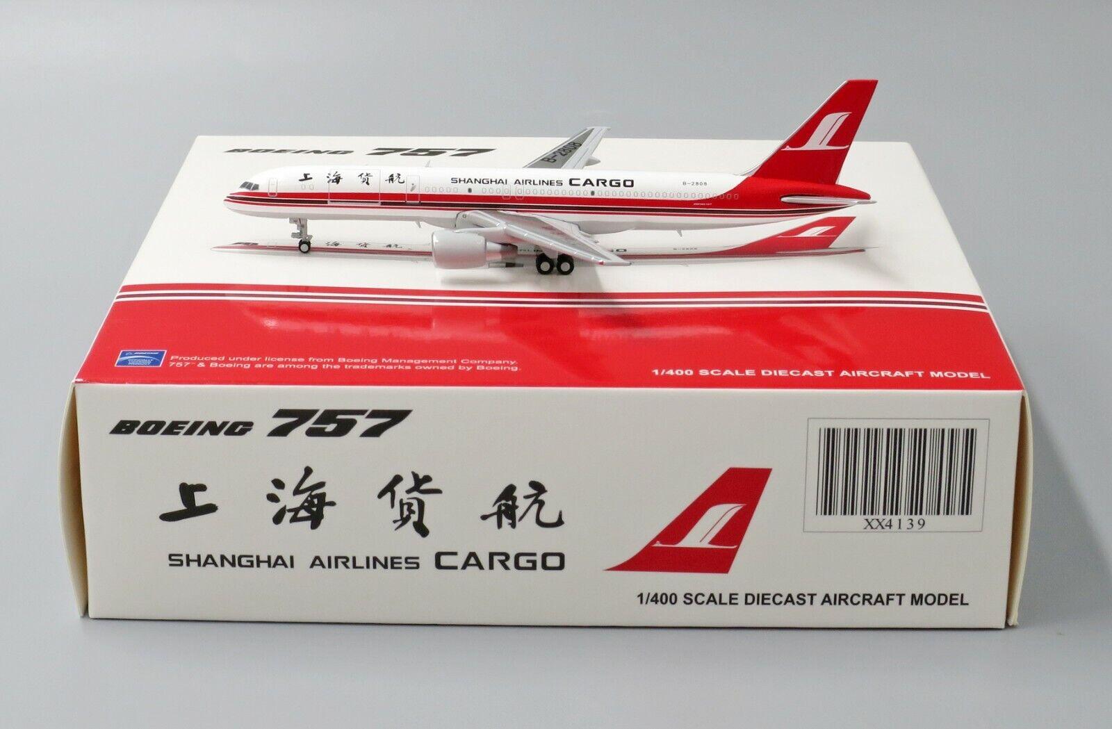 JC Wings 1  400 Shanghai Shanghai Shanghai Air Cochego Boeing b757 - 200 (f) B - 2808 351