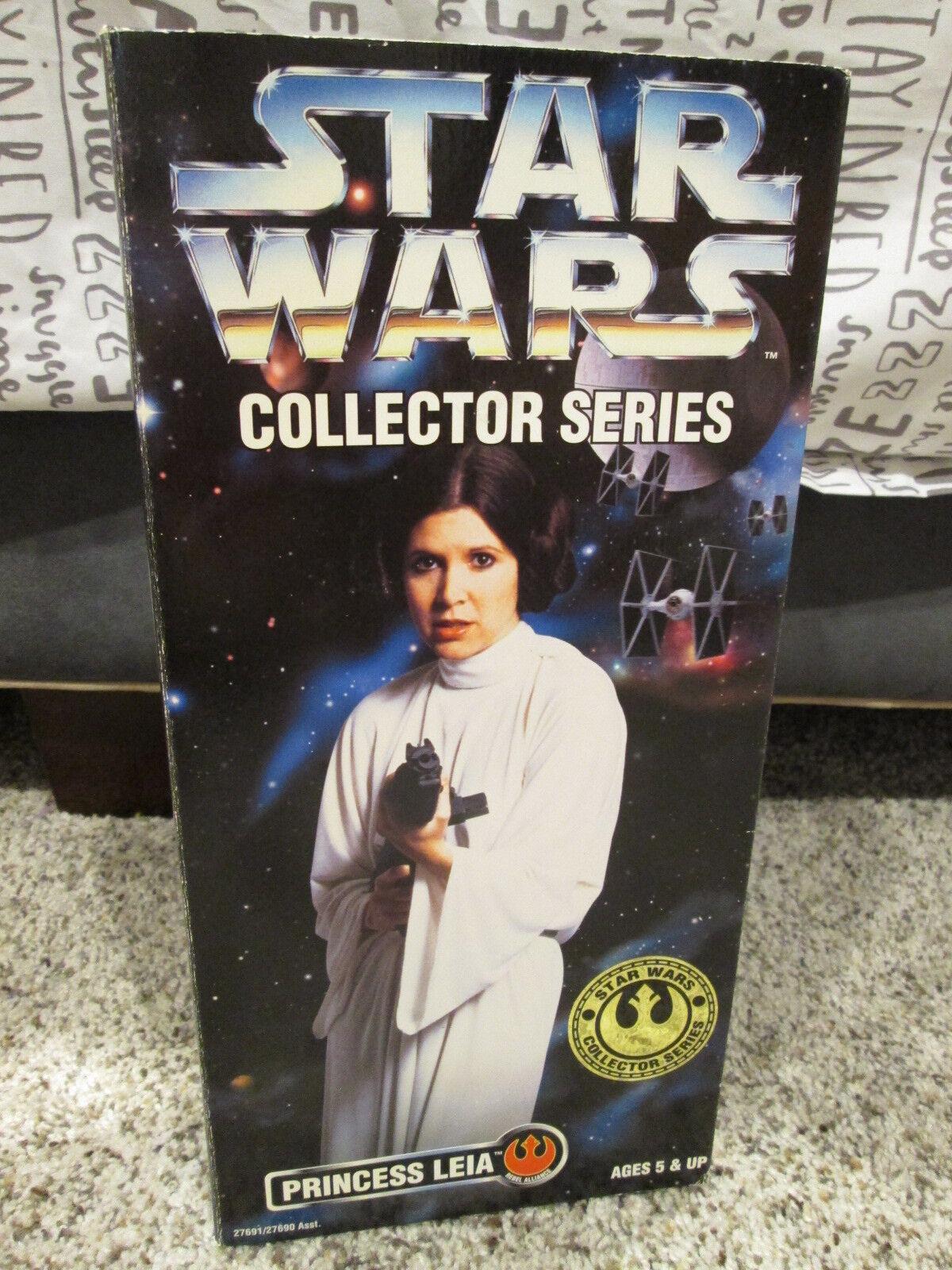 1996 Kenner Star Wars 12  Collector Series Figure Princess Leia 27691 NIB