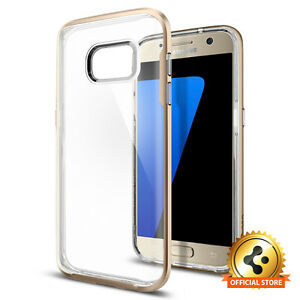 603e44a99 Details about Spigen®  Neo Hybrid Crystal  Samsung Galaxy S7 Case  Shockproof Clear Back Case