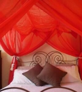 OctoRose-4-post-functional-bed-canopy-mosquito-net-fit-all-size-bed-many-color