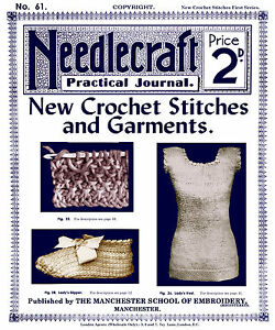 Crochet Journal : ... -Practical-Journal-61-c-1907-Excellent-Tunisian-Crochet-Instruction