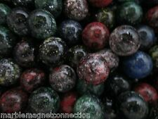 "MARBLE BULK LOT 2 POUNDS OF 5/8"" GALAXY MULTI COLOR MEGA MARBLES FREE SHIPPING"
