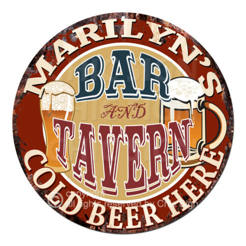 CWBT0080 MARILYN/'S BAR N TAVERN Sign Mother/'s Day Christmas Gift For Woman