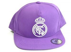 eb068aafaa8 Real Madrid Classic Baseball Cap Purple Football Sun Ball Official ...