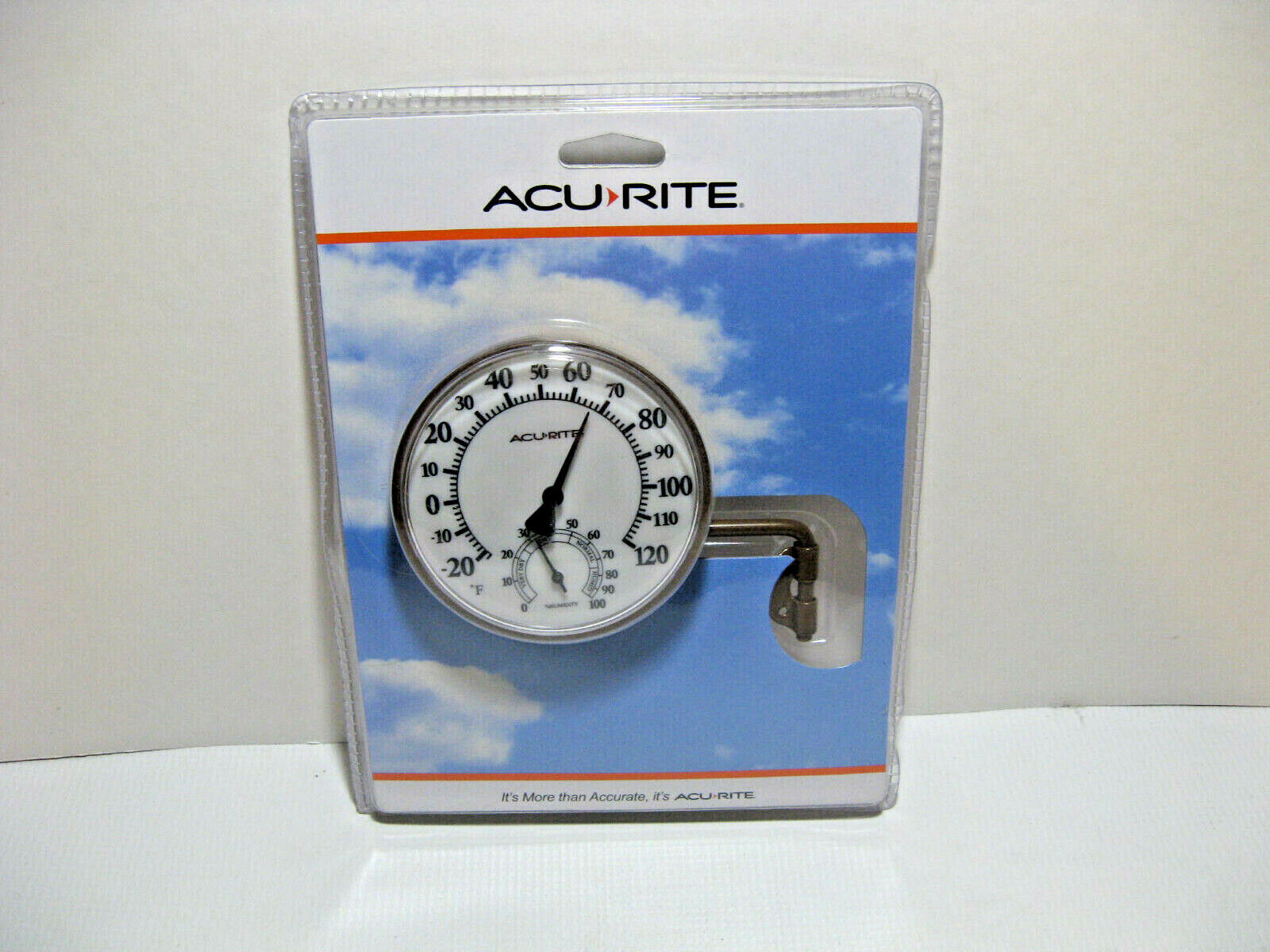 Acurite Swivel Thermometer With Hygrometer (Humidity) Swivel Mount / Easy Read