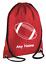 PERSONALISED Drawstring Bag School RUGBY Ball Team League Gym Kit Girl Boys Gift