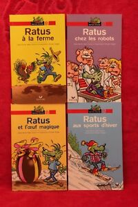 Details Sur Ratus Lot De 4 Poches Livre Occasion