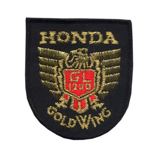 Honda Gold Wing GL 1200 Sew On Patch