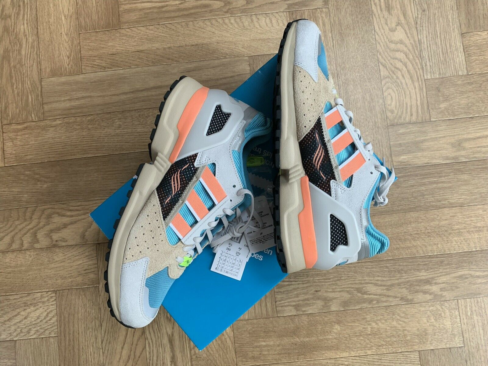 Adidas Consortium ZX1000C Size 9.5 Boxed New Quality shoes