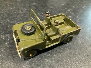 Benbros Qualitoys Army Land Rover Rare