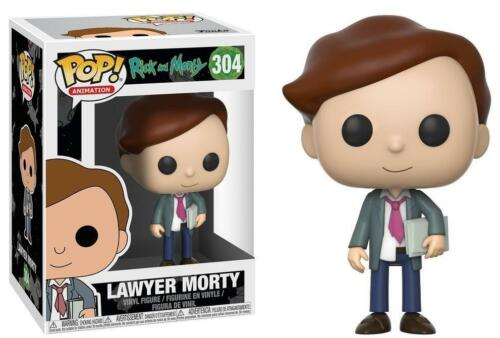 Rick and Morty #304 Lawyer Morty Funko Pop Animation Brand New