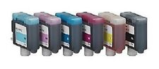 6 x Cartridges for Canon ImagePROGRAF W7200 W8200D W8400D / BCI-1411 Cartridges