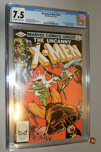 Uncanny-X-men-158-CGC-7-5-off-white-to-white-Wolverine-Cyclops-Storm