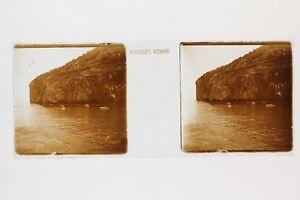Región Capri Italia Foto Placa De Cristal Estéreo Vintage