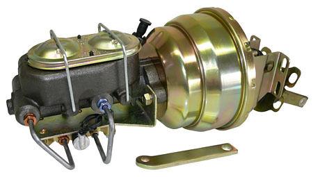 Disc//Disc Applications 1952-72 Ford Fullsize Car Power Brake Booster Kit