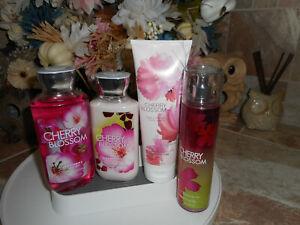 Bath-amp-Body-Works-Cherry-Blossom-4-Pc-Set-with-Fragrance-Mist