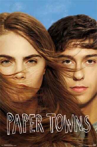 """Paper Towns Movie Poster 22x34/"""" Print  Clearance priced"""