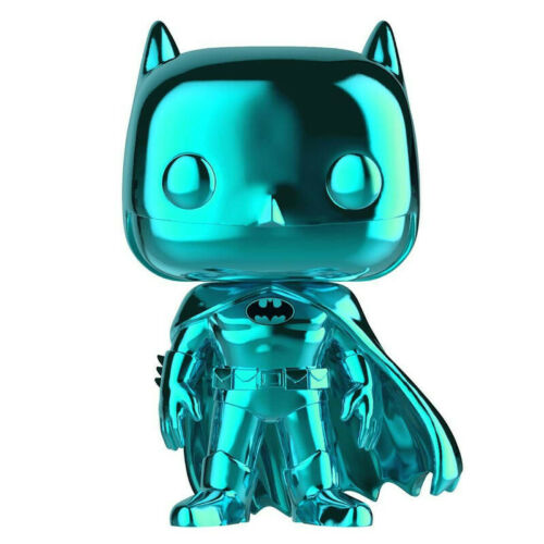 FIGURINE FUNKO POP BATMAN CHROME CIAN EXCLUSIVE SDCC 2019 BATMAN