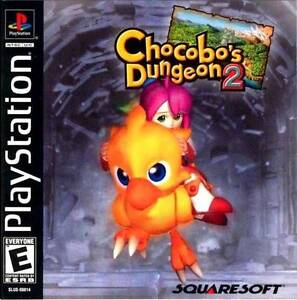 Chocobo-039-s-Dungeon-2-PS1-Great-Condition-Fast-Shipping