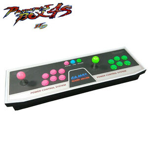 Details about Metal Double Stick Arcade Console - 800 Games - 2 Players  Pandora's Box 4S New
