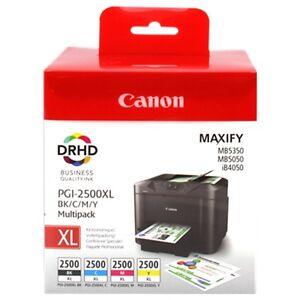 Genuine Canon PGI2500XL BK NERO drhd XL BLACK INK MAXIFY MB5450 IVA INCLUSA