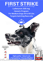 Generic Program, Flea Control For Dogs 30 To 60 Pounds, 48 Flavored Capsules