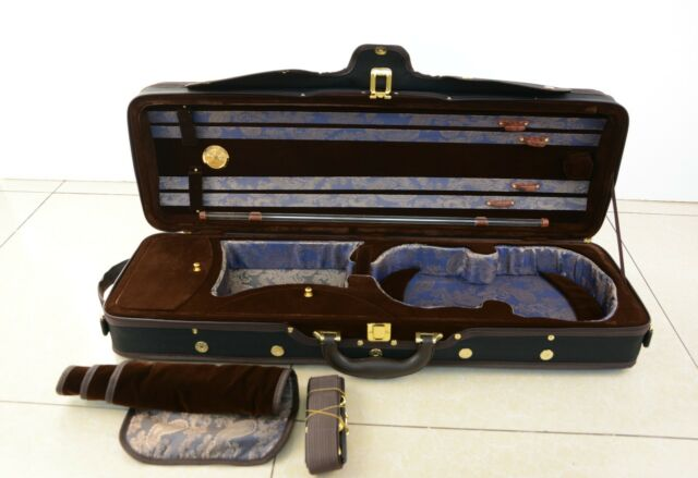 High Quality Foamed Oblong Violin Case!Light Weight Free Shipping