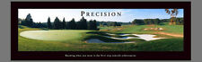 Golf PRECISION Impossible Green Motivational Golf Course Golfing POSTER Print