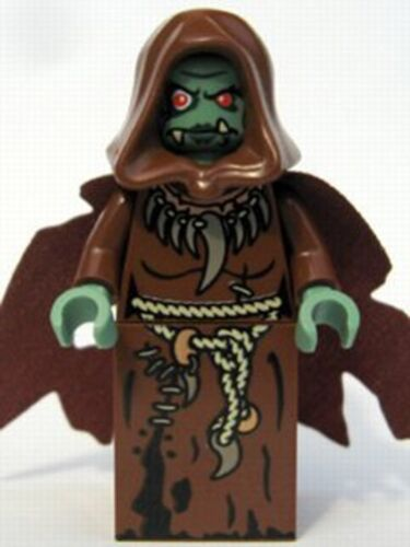 Fantasy Era LEGO Castle MINIFIG // MINI FIGURE Troll Queen // Sorceress