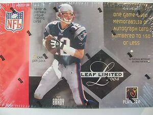 2004-LEAF-LIMITED-FOOTBALL-FACTORY-SEALED-PACK