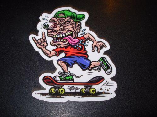"""JIMBO PHILLIPS Skate 3.75/"""" Sticker SKATE FREAK skating skateboard helmets decal"""