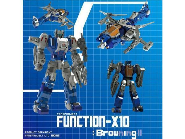 Fansproject Combiner Ryu-Oh Dinoni (Yokuryu) Wirkung Figure Transformers
