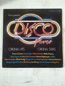 Ronco-presents-Disco-Fever-VTG-1978-Donna-Summer-Vinyl-Record-LP-Original