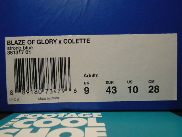 puma kith blaze of glory x colette ronnie fieg kith puma forte bleu - blanc 361317-01 10 7ac5fc