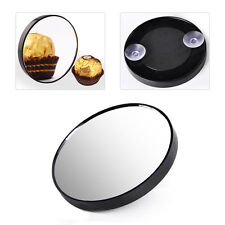 10x Magnifying Mirror 2 Suction Cups Black Travel Enlargement View