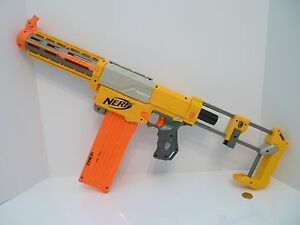 Nerf N-Strike Long Strike CS-6 Dart Gun w/ Clip