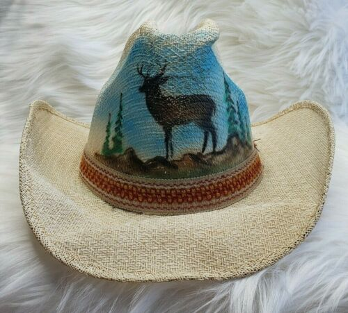 SOMBREROS JOAQUIN Authentic Painted Mexican Cowboy