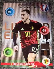 Panini EURO 2016 Adrenalyn XL EDEN HAZARD Belgium LIMITED EDITION Football Card