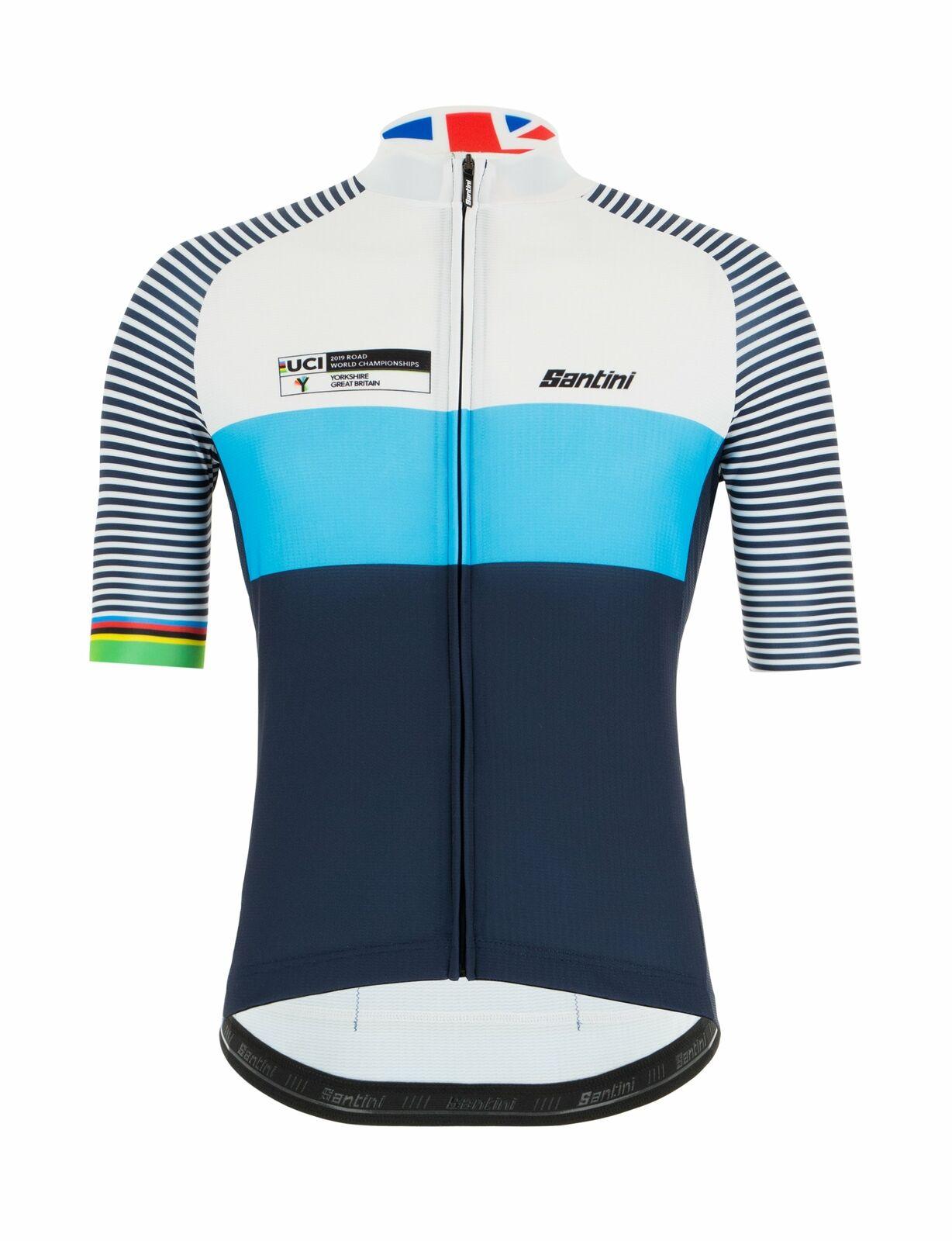 2019 Yorkshire World Championships Legacy Radfahren Jersey by Santini