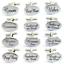 thumbnail 2 - Silver Engraved Custom Wedding Personalised Best Man USHER Cuff & Links Free Bag