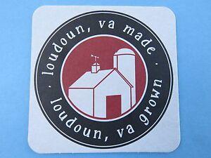 Bière Dessous De Verre ~^~ Dept Economic Development~ Loudoun,virginia Fabriqué 4dq3hqes-07214401-321533984