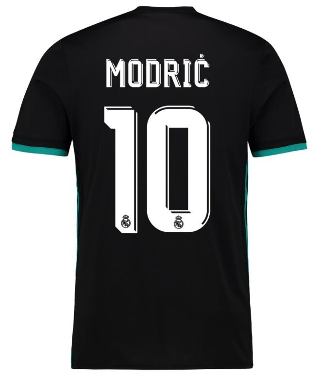 Trikot Real Madrid Away 2017-2018 Away Madrid UCL - Modric 10  Champions League bbc95a