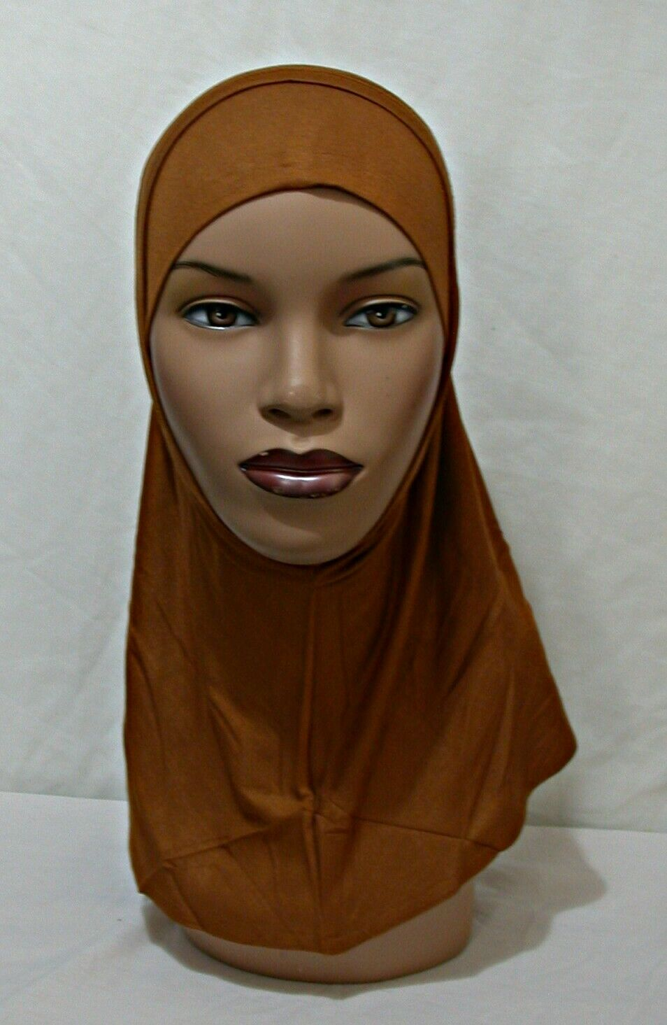 2 pc CINNAMON Cotton Hijab Amira Womens Islamic Headcover Abaya Underscarf