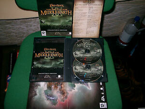 BATTLE-FOR-MIDDLE-EARTH-II-2-COLLECTOR-039-S-PC-DVD-ROM-V-G-C-FAST-POST-COMPLETE