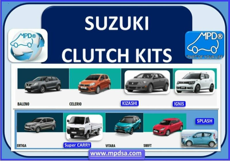 CLUTCHES FOR SUZUKI CARS - OEM QUALITY AT THE BEST PRICES - CALL NOW ONLY LIMITED STOCK AVAILABLE