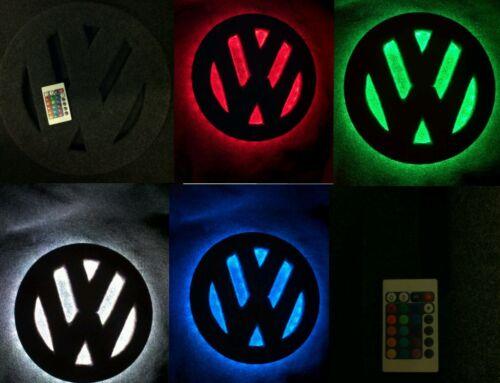 VW Caddy de t25 t4 t5 t6 12 pulgadas logotipo e insignia luz led interior.