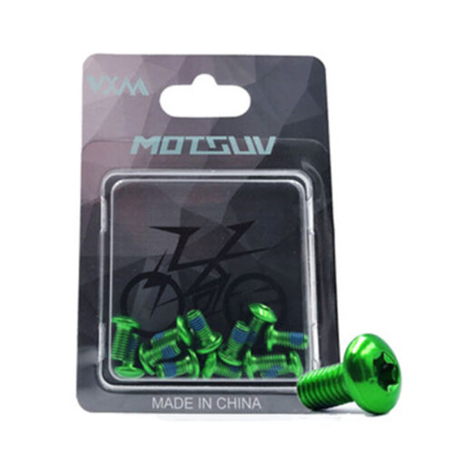 10MM MTB Bike Head Disc Brake Rotor Bolts Mount Screws 12PCS Bike Bolt M5