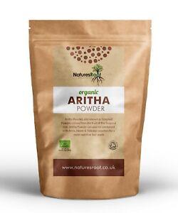 Organic-Aritha-Powder-100-Reetha-Soapnut-Powder-Herbal-Shampoo-Conditioner