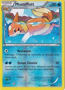 Mustéflott Reverse - XY : Etincelles - 29/106 - Carte Pokemon Neuve Française